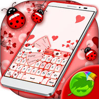 Ladybug Keyboard Tema
