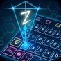 Tema de teclado de holograma