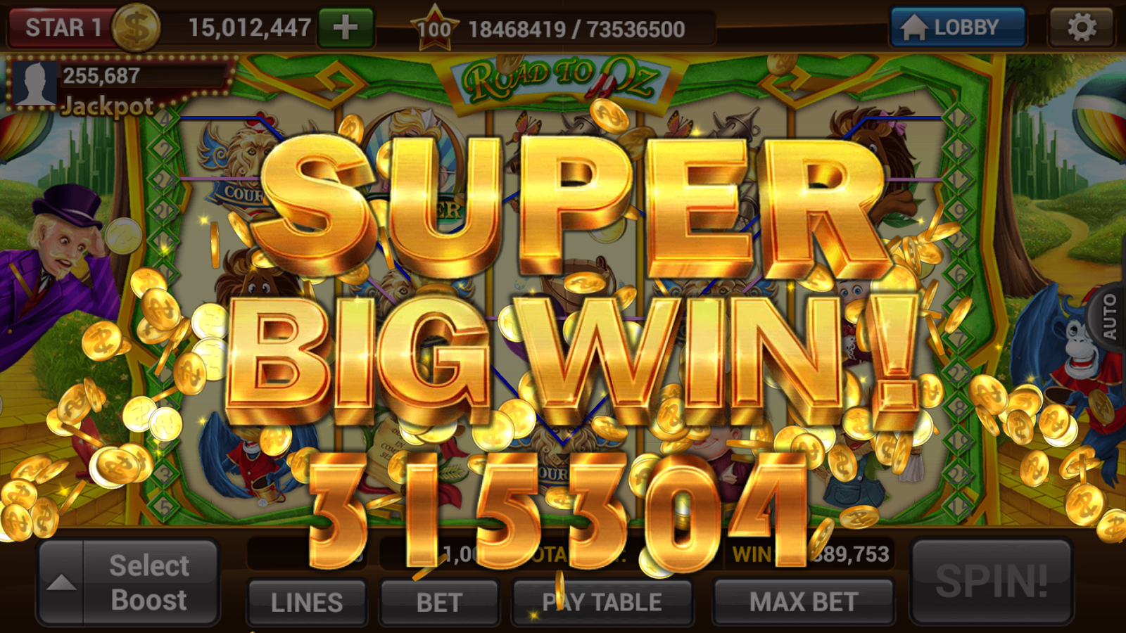 Free spin online slot machines