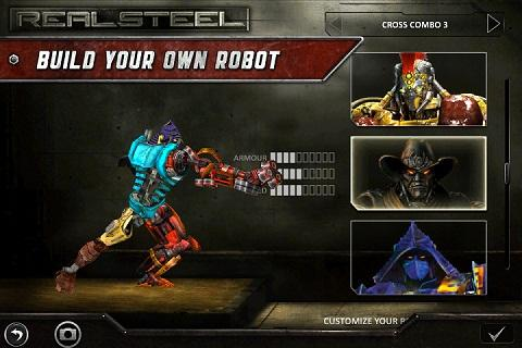 real steel games free  for android